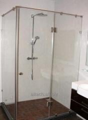 Shower cabins glass