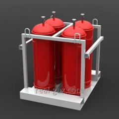 Monoblocks gas - Containers with manifold system