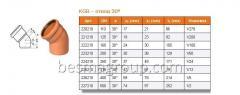 KG - фитинги-KGB – отвод 30º от Ostendorf