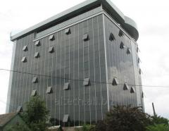 Structural and silicone facades