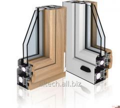 Окна дерево-алюминиевые Aluwood