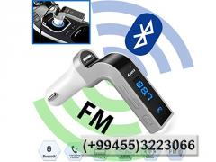 FM Bluetooth трансмиттер
