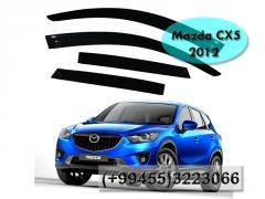 Mazda 5 2012 üçün vetroviklər,  Ветровики для Mazda 5 2012.