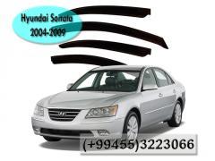 Hyundai Sonata 2004-2009 üçün vetroviklər,  Ветровики для Hyundai Sonata 2004-2009