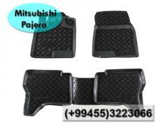 Mitsubishi Pajero ucun rezinler. Коврики для Mitsubishi Pajero.