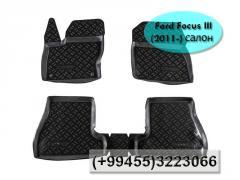 Ford Focus III (2011-) ucun  ayaqaltilar. Коврики для Ford Focus III (2011-).