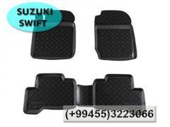 Suzuki Swift ucun rezinler.  Коврики для Suzuki Swift.