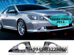 Toyota Camry 2012 üçün DRL LED duman faralar.  DRL LED противотуманные фары для Toyota Camry 2012.