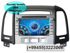 Hyundai SantaFe 2008 üçün DVD-monitor.  DVD-монитор для Hyundai SantaFe 2008.