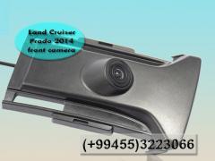 Land Cruiser Prado 2014 üçün qabaq kamera.  Передняя камера для Land Cruiser Prado 2014.