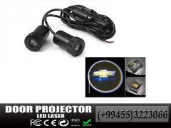 CHEVROLET lazer proektoru.  Лазерный проектор CHEVROLET.