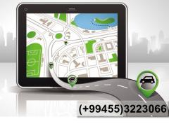 GPS naviqator. GPS навигатор.