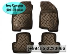 Jeep Compass (2011-) üçün ayaqaltılar. Коврики для Jeep Compass (2011-).