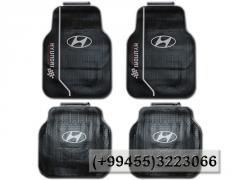 Hyundai Racing ayaqaltılar.  Коврики Hyundai Racing.