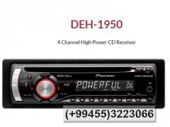 Maqnitola Pioneer DEH-1950.  Магнитофон Pioneer DEH-1950.