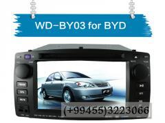 BYD F3 üçün DVD-monitor.  DVD-монитор для BYD F3.