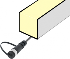 Светодиодный светильник, контурный
