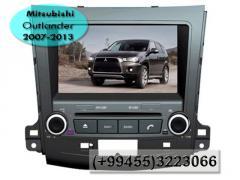 Mitsubishi Outlander 2007-2013 üçün DVD- monitor.  DVD- монитор для Mitsubishi Outlander 2007-2013.