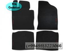 Kia Cadenza üçün silikon ayaqaltilar.  Силиконовые коврики для Kia Cadenza.