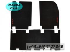 Mazda CX-9 üçün silikon ayaqaltilar. Силиконовые коврики для Mazda CX-9 .