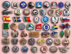 Badges under the order