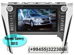 Toyota Camry 2012 üçün DVD-monitor.  DVD-монитор для Toyota Camry 2012.