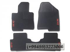Hyundai İX35 üçün rezin ayaqaltılar.  Резиновые коврики для Hyundai İX35.