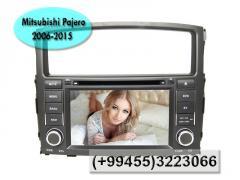 Mitsubishi Pajero üçün DVD- monitor.  DVD- монитор для Mitsubishi Pajero.