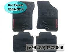 Kia Cerato 2009-2012 üçün rezin ayaqaltilar.  Резиновые коврики для Kia Cerato 2009-2012 .