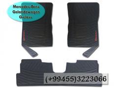 Mercedes Benz G-class Gelandewagen üçün rezin ayaqaltilar.  Резиновые коврики для Mercedes Benz G-class Gelandewagen.