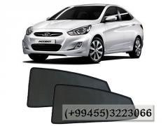 Hyundai Accent 2011-2016 üçün yan pərdələr.Боковые шторки для Hyundai Accent 2011-2016.