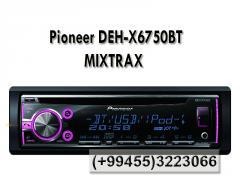 Pioneer DEH-X6750BT MIXTRAX CD, MP3, WMA, WAV, Bluetooth, AUX ,USB.