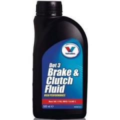 Высокоэффективная синтетическая тормозная жидкость Brake & Clutch Fluid DOT 3