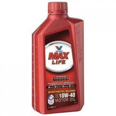 Высококачественное синтетическое моторное масло MaxLife 10W-40