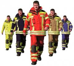 Спецодежда для пожарников
