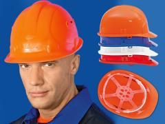 Каски рабочие защитные