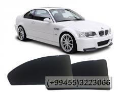 BMW E46 üçün yan pərdələr.  Боковые шторки для BMW E46.