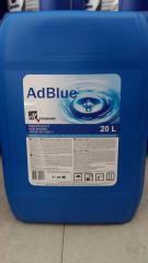 AdBlue - реагент для обеспечения чистоты выхлопных газов дизельных двигателей