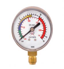 Манометр 0-16 кислород, давление после