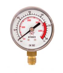 Манометр 0-315 азот, давление до