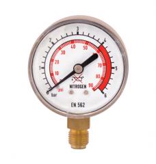 Манометр 0-6 азот, давление после
