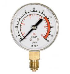 Измеритель скорости потока 0-32 аргон - двуокись углерода, давление после