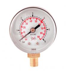 Манометр 0-6 кислород, давление после