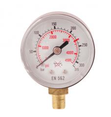Манометр 0-315 кислород, давление до