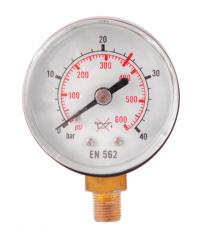 Манометр 0-40 ацетилен, давление до
