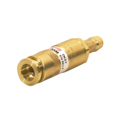 Клапан огнепреградительный DKST до горелки, горючий газ с быстроразъёмным соединением