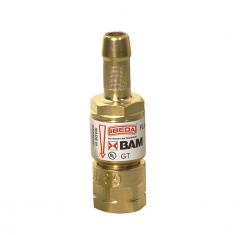 Клапан огнепреградительный GT, до горелки, горючий газ легкого типа