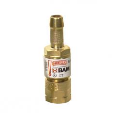 Клапан огнепреградительный GT, до горелки, кислород легкого типа