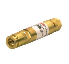 Клапан огнепреградительный DGNDK для редуктора, горючий газ, с быстроразъёмным соединением