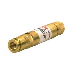 Клапан огнепреградительный DGNDK для редуктора, кислород, с быстроразъёмным соединением